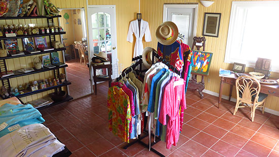 gift shop at arawak