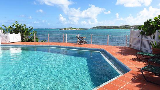 the pool at arawak