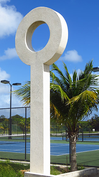 architecture at the anguilla tennis academy