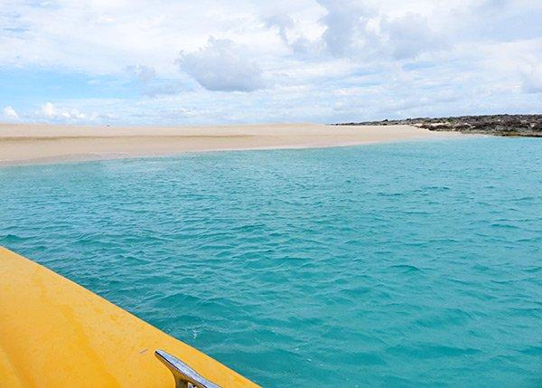 arriving at dog island anguilla