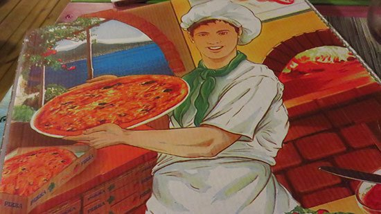 charming pizza boxes