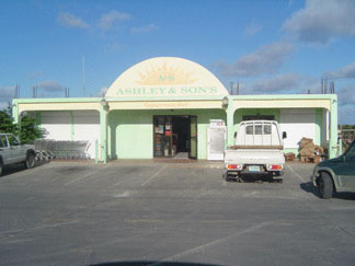 Ashley supermarket, Anguilla