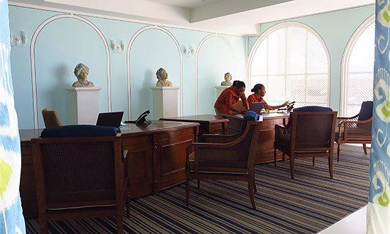 reception area anguilla