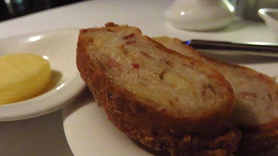 bacon cheese bread le bistro
