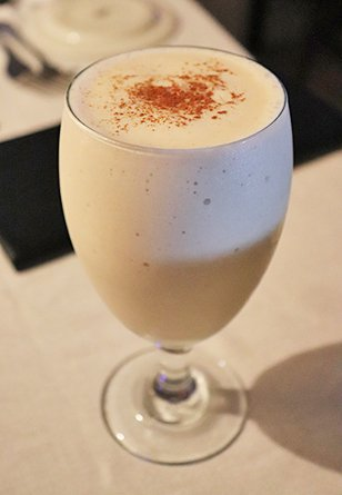 Baileys, Banana and coconut Colada at Es Oven