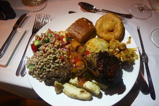 bbq plate at cuisinart bbq