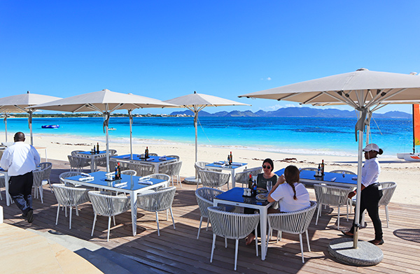 Lunch at The Beach Bar and Grill at Cuisinart