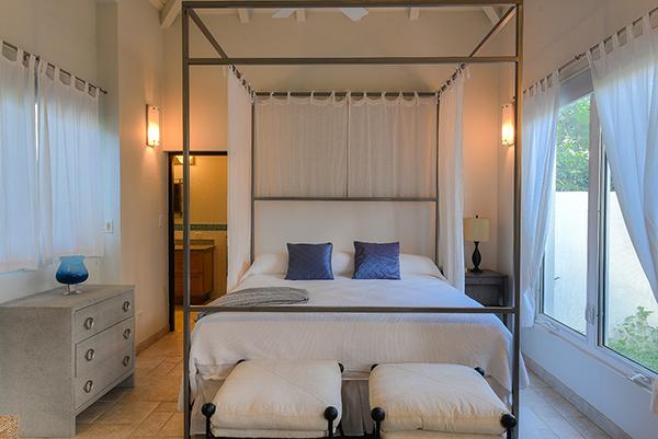 Beach Escape Villa master suite in second house