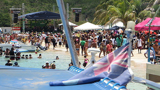 august monday beach party in anguilla