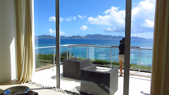balcony at beaches edge