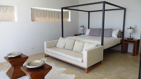 master bedroom inside beaches edge