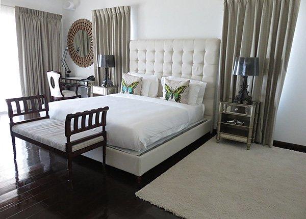 beachfront standard room at manoah boutique hotel