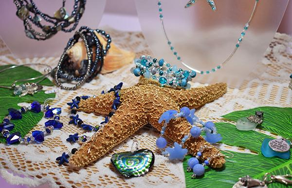 Jewelry set at Sea Spray