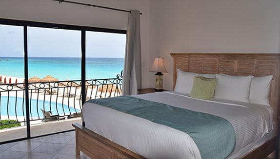 bedroom at frangipani