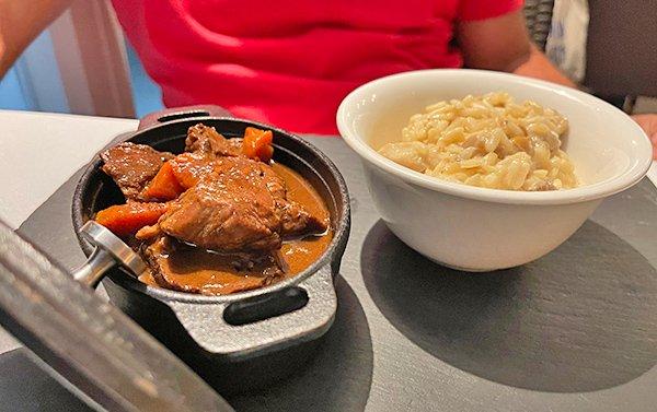 Beef Cheeks & Veal Stew at Ocean 82