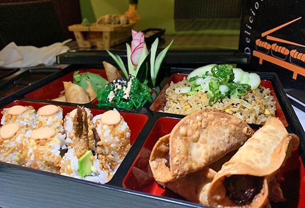 Bento Box at Oishi