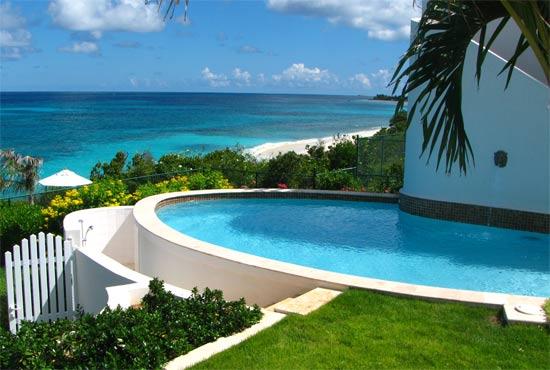 anguilla villa black pearl pool