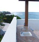 anguilla villa black pearl wet bar