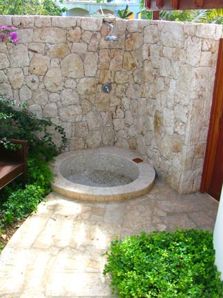 anguilla villa black pearl showers
