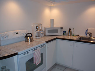 Anguilla hotel, Blue Waters, kitchen