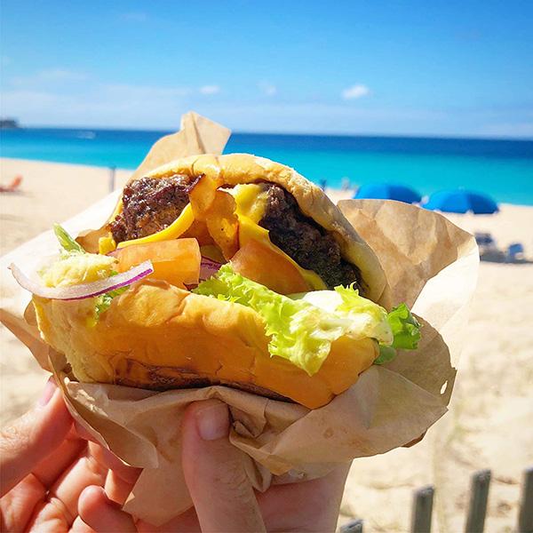 anguilla food burgers