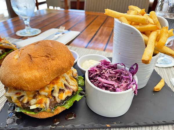 Holland House burger