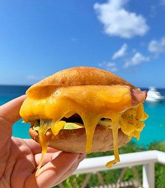 Johnny Cake Sandwich