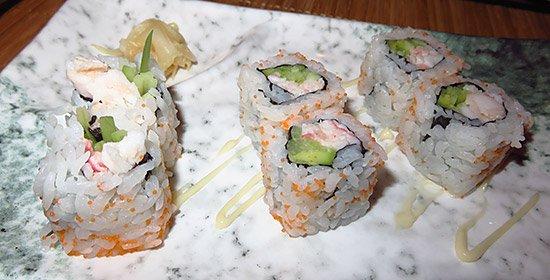 salmon cucumber roll