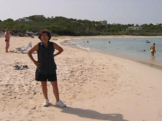 Sea Feather Bay on Anguilla