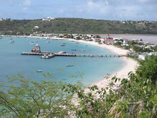 Sandy Ground in Anguilla