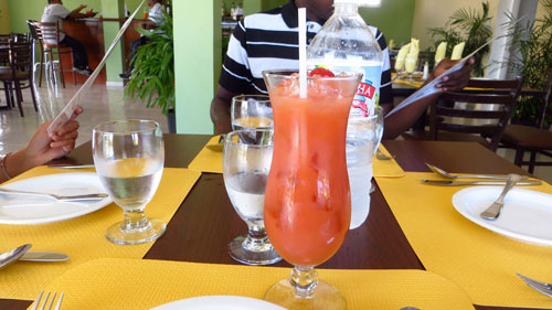 fruit punch caribbean restaurant