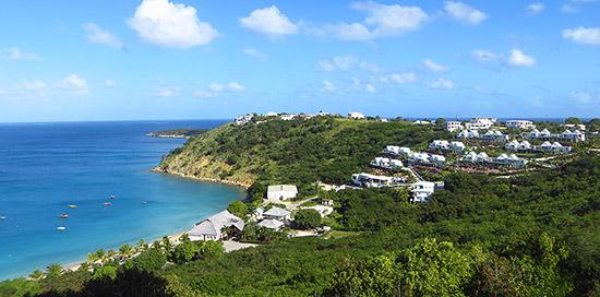 CéBlue set in crocus hill anguilla