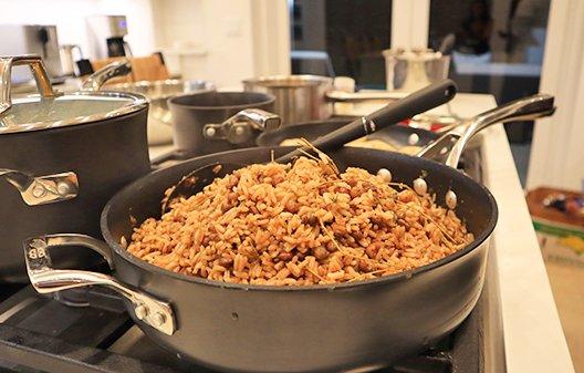Anguillian Rice & Peas