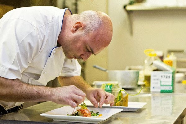 Chef Johnny Clero at Cips At Belmond Cap Juluca