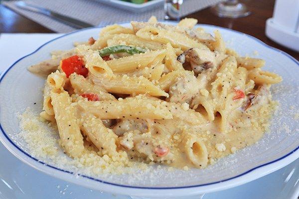 Chicken Pasta from Flavours Restaurant