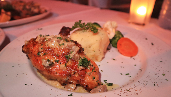 Stuffed Airline Chicken Breast at Barrel Stay Sandy Ground