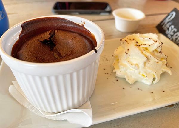 Homemade Chocolate Cake at Yellow Beach