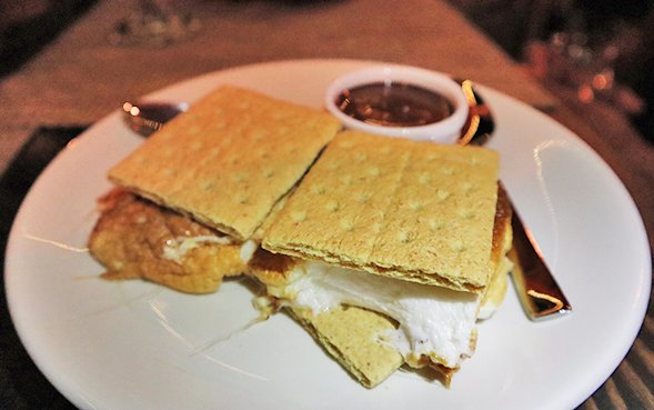 Chocolate S'mores at ember