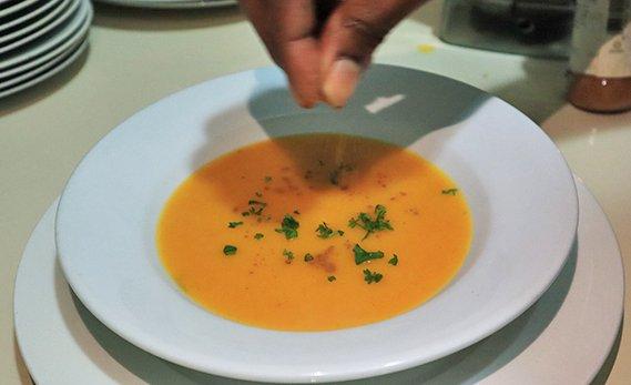 sharkys cinnamon spice soup