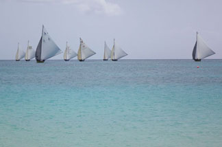 class a race in process on anguilla's seas