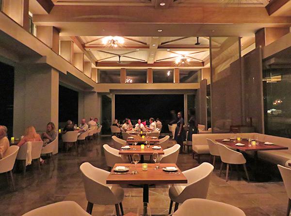 main dining room at coba four seasons