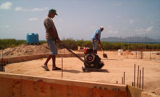 compacting the backfill