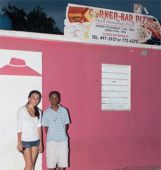 Corner Bar Pizza Anguilla Fresh Homemade Pizza