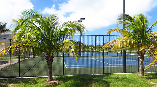 courts at anguilla tennis academy