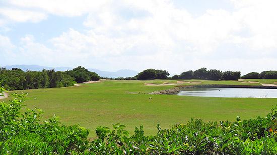 cuisinart golf club second hole