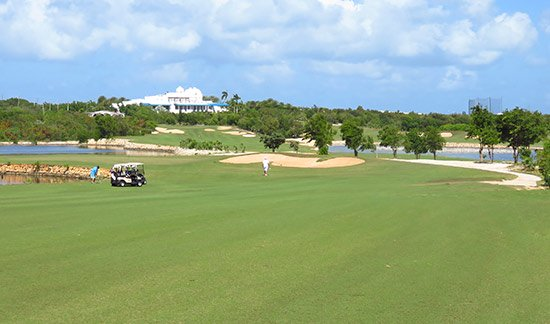 cuisinart golf club pictured from the fairway