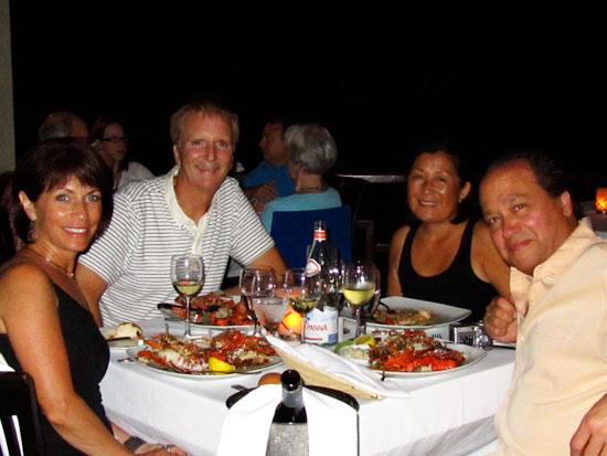dinner at da'Vida