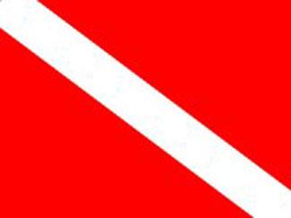 dive, flag, anguilla