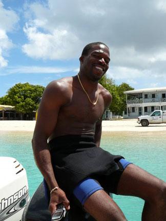 Anguilla, divemaster, Dougie Carty