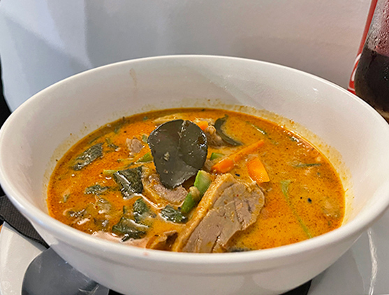 Red Curry Roast Duck at Tao Garden